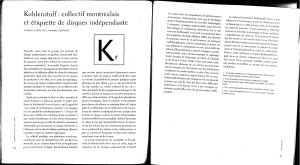 Article Circuit KOhlenstoff