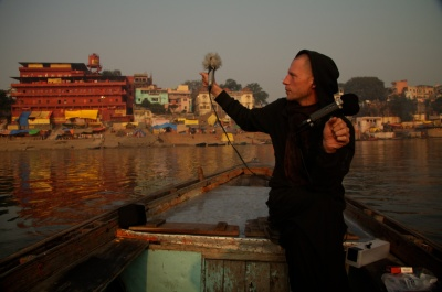 Félix-Antoine Morin Varanasi Inde India Le jeu des miroirs de kali